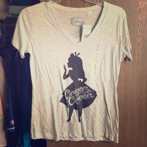 Curiouser and Curiouser Alice T-shirt